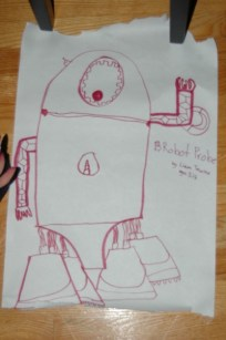 Robot Probe - Liam's Favorite