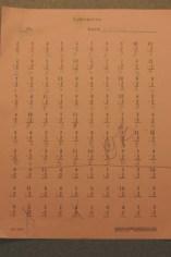 Math Work - Drill and Kill!