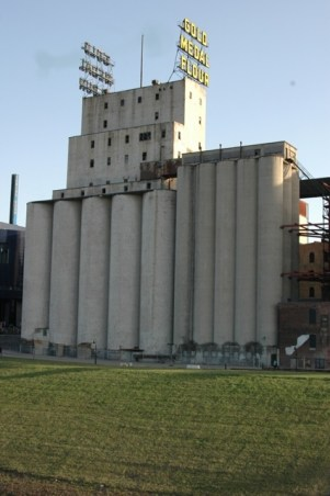 Helena Knows Something About Grain Elevators
