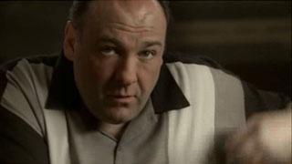 The last look of Tony Soprano
