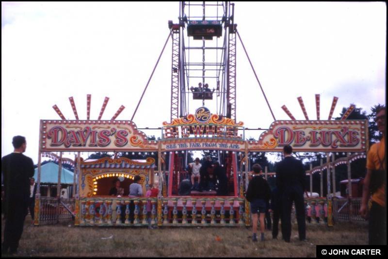 Davis's De-Luxe Big Wheel circa 1970