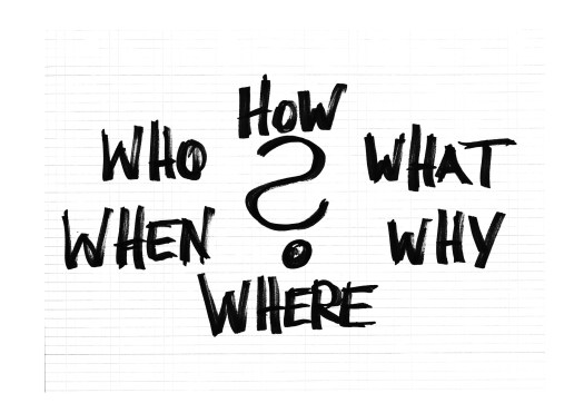 Questions imply we are trying to make sense of our world (Image courtesy of pixabay.com)