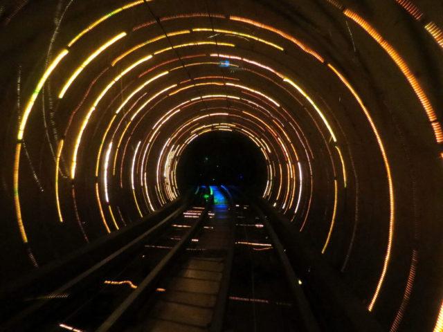"""Space swirl."" Yup, looks like a vortex to me. Bund, Shanghai, China, Asia."