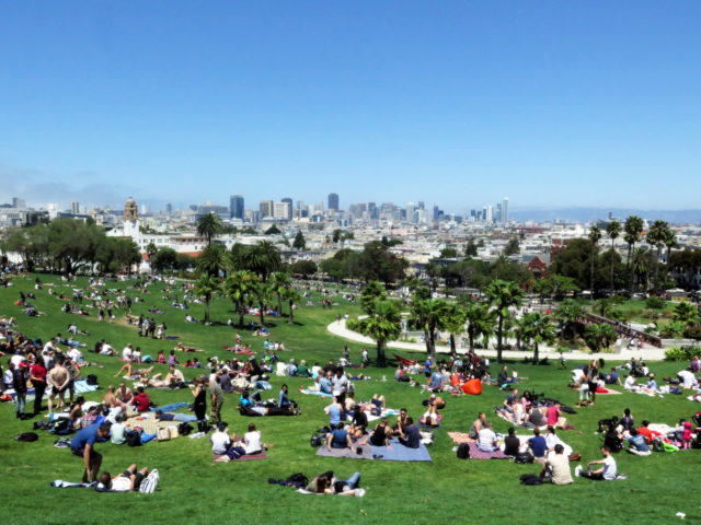 Best Park: Dolores Park. Nothing else (that isn't Golden Gate Park) comes close. (Day 4) San Francisco, United States, North America.