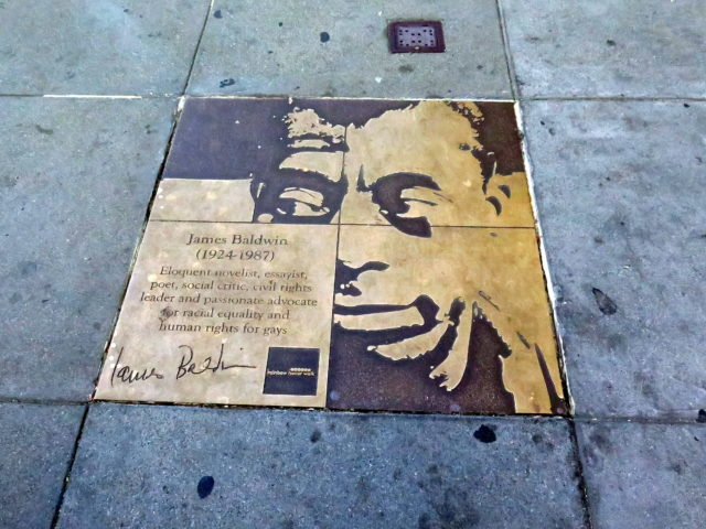 20th century literary giant, James Baldwin. San Francisco, United States, North America.