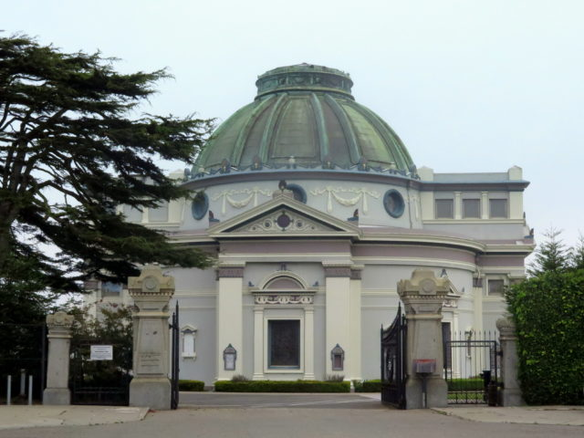 The neo-classical Columbarium, built in 1895 and completely refurbished in 1980. San Francisco, United States, North America.