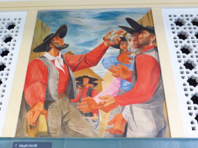 "Honorable Mention: ""History of California"" mural at the Rincon Center. (Weekday Edition) San Francisco, United States, North America."