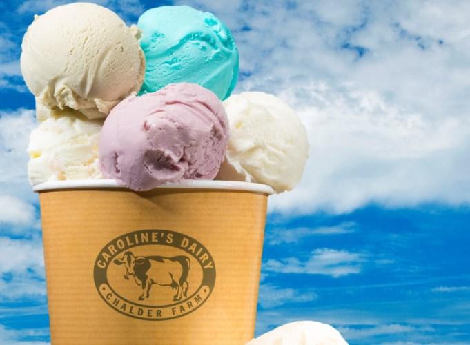 Ice cream dream with Caroline's Dairy