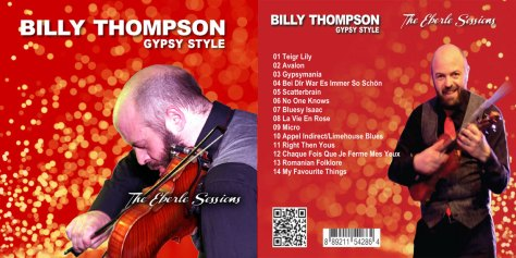 Billy Thompson Gypsy Style - The Eberli Sessions Audio CD