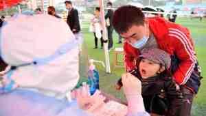 Çin'de beş gün içinde 10 milyon kişiye corona virüs testi yapıldı, vaka bulunamadı