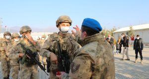 50 komando Suriye'ye gönderildi
