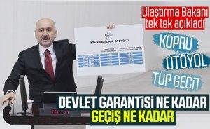 Adil Karaismailoğlu, garanti edilen ile gerçekleşen geçiş sayılarını açıkladı
