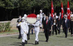 Anıtkabir'de 19 Mayıs töreni düzenlendi