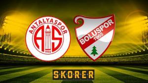 Antalyaspor-Boluspor (CANLI)