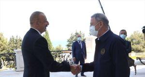 Azerbaycan lideri Aliyev: Türkiye askeri teknik işbirliği alanında bir numaralı ortağımız olacak