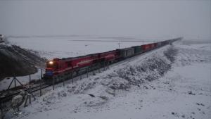 Çin'e giden ihracat treni İpek ve Baharat yolunu yeniden canlandıracak
