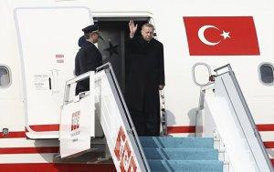 Cumhurbaşkanı Erdoğan Rusya'ya hareket etti