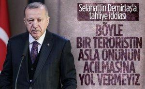 Cumhurbaşkanı Erdoğan: Selahattin Demirtaş teröristtir