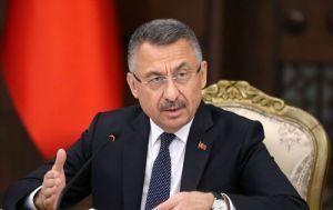 Cumhurbaşkanı Yardımcısı Oktay: Moskova'da varılan anlaşmanın barışa ve huzura katkı sağlayacağına inanıyoruz