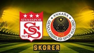 DG Sivasspor – Gençlerbirliği (CANLI)