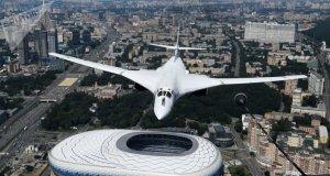 Dünyanın en büyük savaş uçağı Rus Tu-160