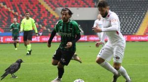 Gaziantep FK-Kocaelispor maçından kareler…