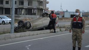 Hatay'da otomobil takla attı: 1 yaralı