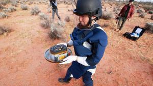 Hayabusa2 Uzay Aracının Kapsülü Dünya'ya İndi