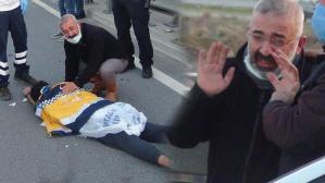 İntihara kalkışan kadına yardım için durdur! Can pazarı