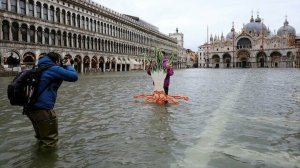 Milyar dolarlık sistem boş çıktı: Venedik'te bariyerler çalıştırılmadı, sular yükseldi
