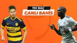 MKE Ankaragücü – Beşiktaş maçı Tek Maç ve Canlı Bahis seçenekleriyle Misli.com'da