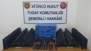 MSB: Hakkâri ve Van'da 80 kurusıkı tabanca ele geçirildi