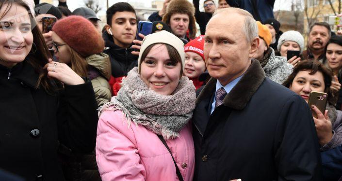 Putin 68. yaş gününü  kutluyor