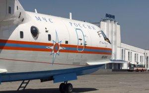 Sakarya'daki havai fişek fabrikasına Rus Be-200 amfibi uçağıyla müdahale edildi