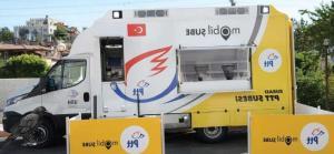 Şanlıurfa'da yaşanan yoğunluğun önüne mobil araçlarla geçiliyor!