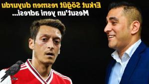 Son dakika haberleri: Erkut Söğüt, Mesut Özil'in yeni adresini duyurdu! Transfer için ilk kez konuştu…
