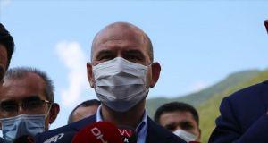 Soylu'dan HDP'nin Batman'daki cinsel istismarla ilgili paylaşımına tepki