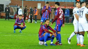 Trabzonspor, 10. kupa hedefinde ilk maçta saf dışı kaldı