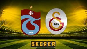 Trabzonspor – Galatasaray maçı saat kaçta, hangi kanalda? İşte ilk 11'ler
