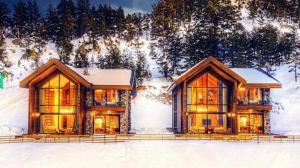 Türkiye'nin en zenginleri bu evde kalacak: Lüks dağ evlerinde gecelik konaklama 80 bin TL
