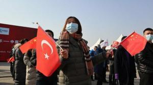 Türkiye'nin İhracat Treni için Çin'de tören