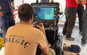 Van Gölü'nde batan tekne 107 metre derinlikte bulundu
