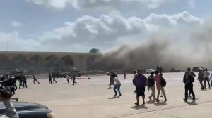 Yemen'de Havaalanında Patlama Meydana Geldi: Bir Bakanın Hayatını Kaybettiği İddia Edildi