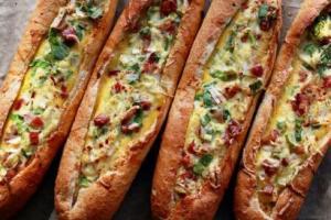 Yumurtalı Kayık Ekmek Tarifi Videosu