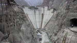 Yusufeli Barajı'nın tamamlanmasına 15 metre kaldı