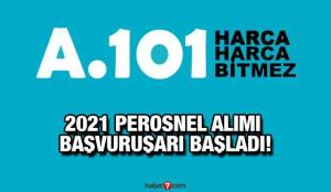 A101 2021 personel alım ilanı yayınladı! Başvurular sürüyor!