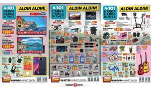 A101 21 Ocak aktüel kataloğu! Elektronik, züccaciye, tekstil, oto aksesuar, elektrikli ürünler