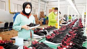 Ayakkabı üretiminin merkezi oluyor