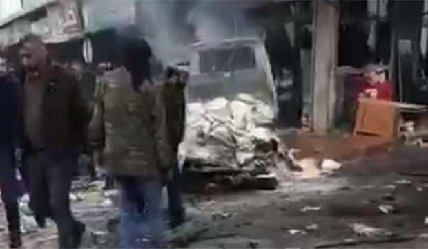 Azez'de patlama: 1 ölü, 5 yaralı