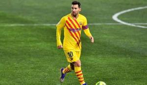 Barcelona'lı Messi, La Liga'da 500. maçına çıktı!